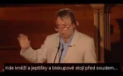 Christopher Hitchens o katolickej cirkvi